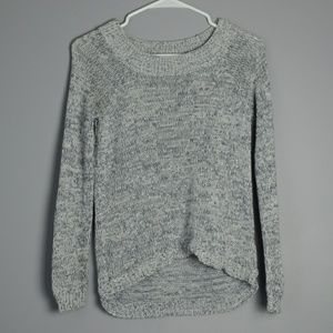 Grey Long-sleeved Sweater